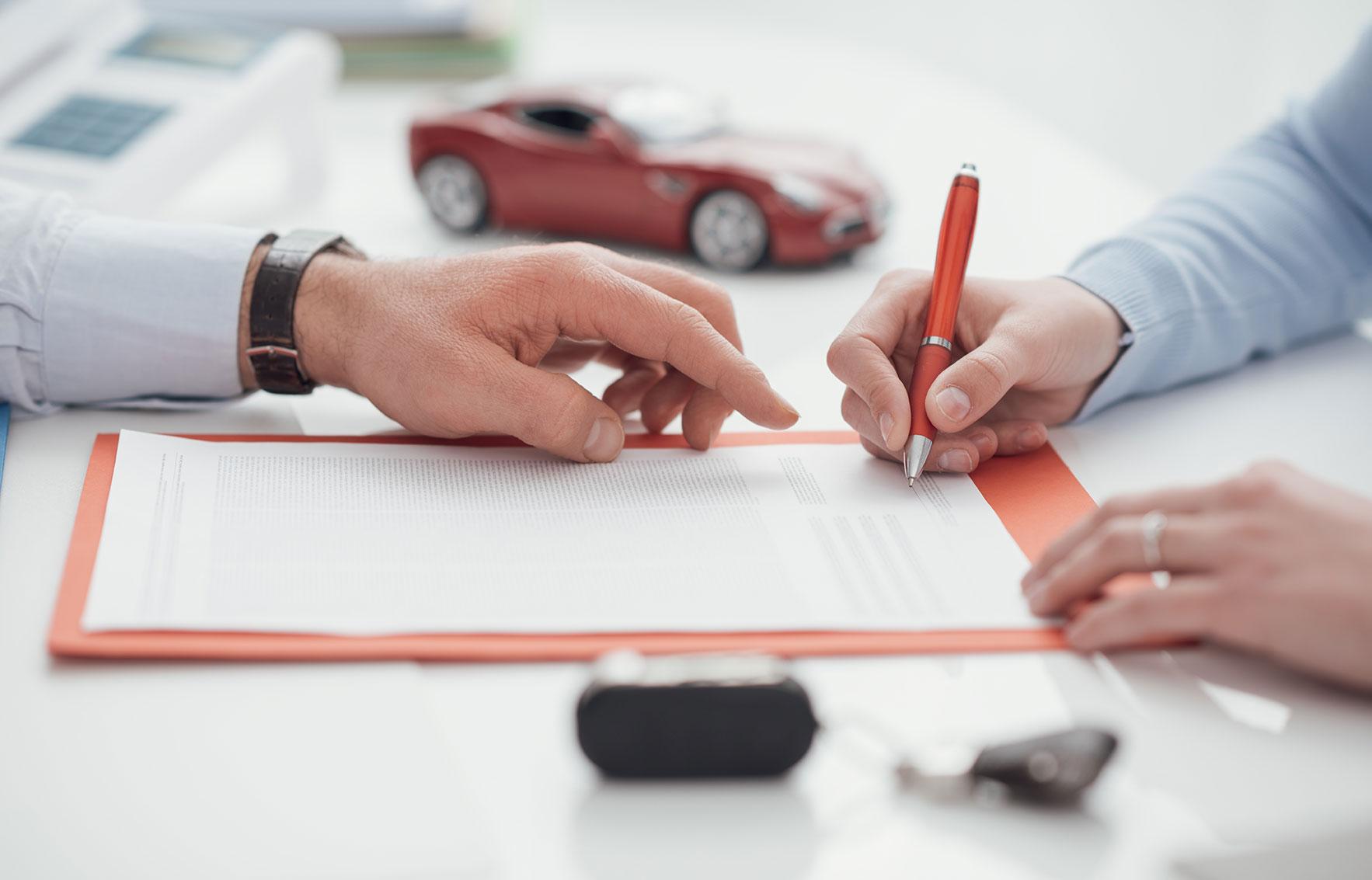 demande de crédit auto réussie